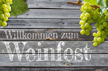 Willkommen zum Weinfest