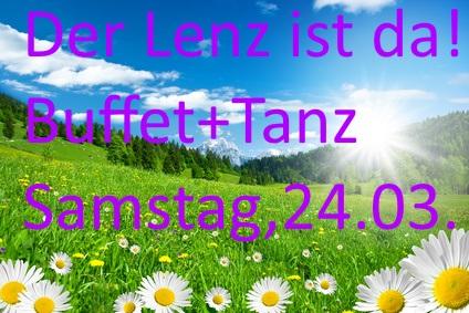 Frühjahr-Tanz+Buffet Jägerkrug Herford
